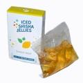 Iced shisha drebučiai skystyje (citrina-mėta)