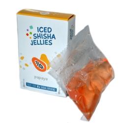 Iced shisha drebučiai skystyje (papaja)