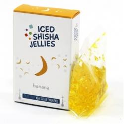 Iced shisha drebučiai skystyje (bananas)