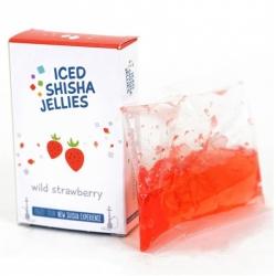 Iced shisha drebučiai skystyje (žemuogė)