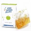 Iced shisha drebučiai skystyje (saldus obuolys)