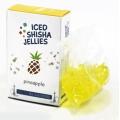 Iced shisha drebučiai skystyje (ananasas)