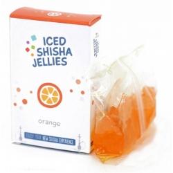 Iced shisha drebučiai skystyje (apelsinas)