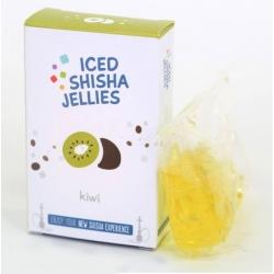 Iced shisha drebučiai skystyje (kivi)