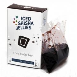 Iced shisha drebučiai skystyje (šokoladas)