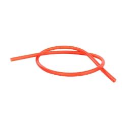 Silikoninė šlanga be antgalių (raudona) 150cm