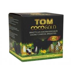 "Natūrali kokoso anglis ""TOM COCO GOLD"" C26 1KG"